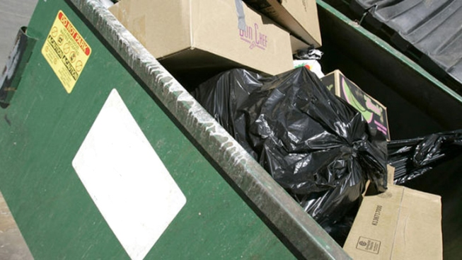 Partier Survives Being Twice Compacted in Dumpster