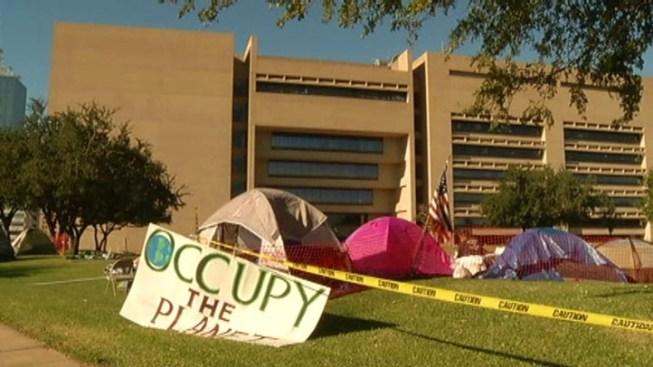 Occupy Dallas: We Aren't Relocating