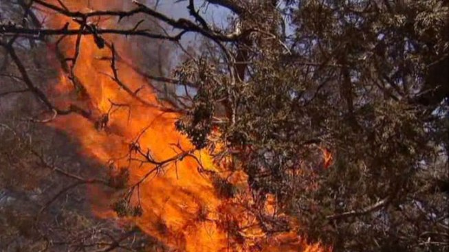 Wildfire Near Possum Kingdom Mostly Contained