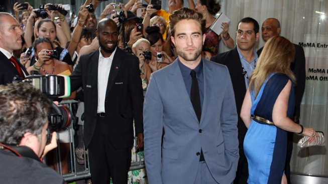 Robert Pattinson Makes First Public Appearance at Cosmopolis Premiere