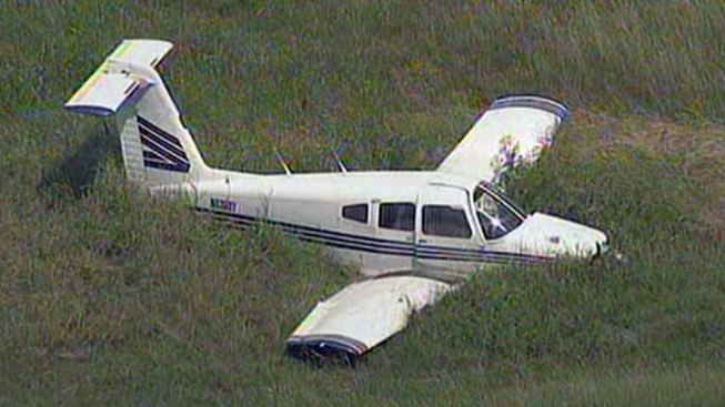 Plane Makes Emergency Landing in Mesquite