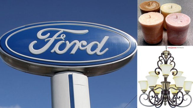Recall Roundup: Ford Vehicles, Votives and Chandeliers