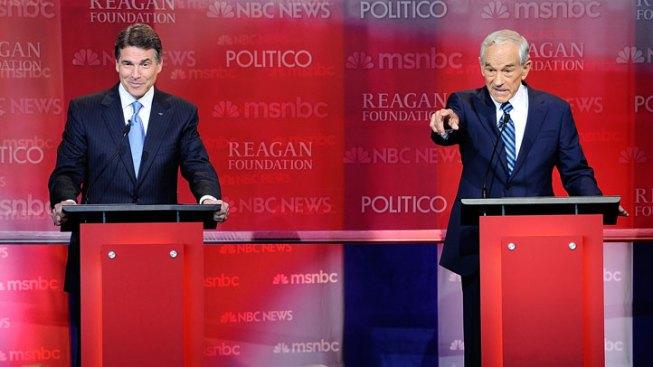 Perry, Paul Tackle Iran, Gaffes at Debate
