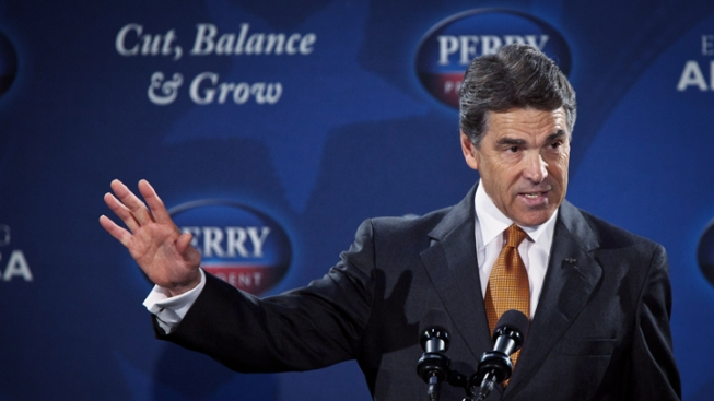 Perry Flubs Name, Number of Supreme Court Justices