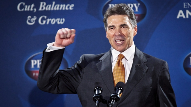 New Hampshire GOP Leaders Defend Perry