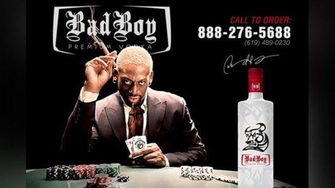 Dennis Rodman Launches Bad Boy Vodka