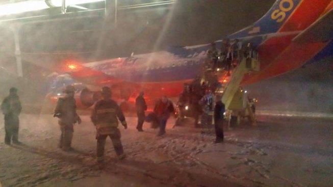 Southwest Jet Slides Off Taxiway at Denver Airport