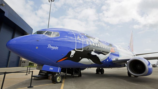 Southwest Unveils Latest Jet Image: Penguin One