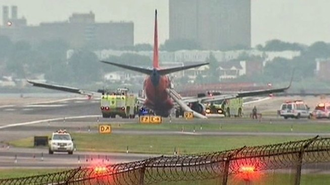NTSB: Capt Took Command Before SWA Landing Accident
