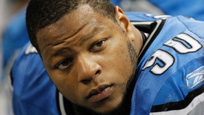Lions DT Suh Suspended for Playoff Game Against Cowboys
