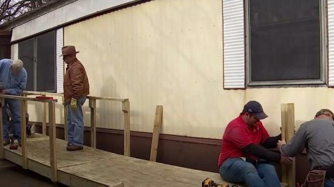 Merveilleux Volunteers Build Wheelchair Ramps For Free