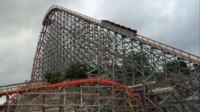 Six Flags Fiesta Texas Reopens Iron Rattler Roller Coaster