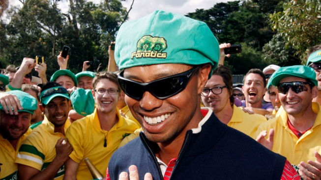 Tiger Woods Clinches Presidents Cup For Americans