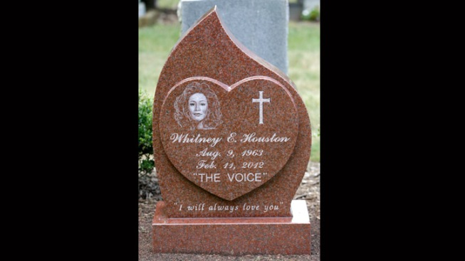"""I Will Always Love You"" Inscribed on Whitney Houston's Headstone"