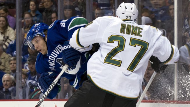 Stars Activate D Aaron Rome After Foot Injury