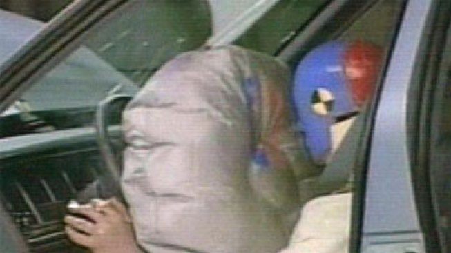 Airbag Deploys, Kills Toddler on Mother's Lap