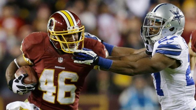 RB Alfred Morris Agrees to 2-Year Deal with Dallas Cowboys
