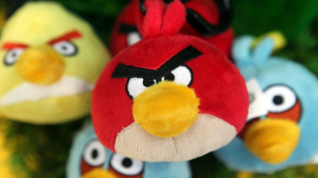 Angry Birds Dive-Bomb Neighborhood
