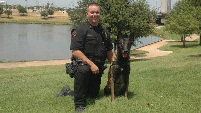Retired Arlington Police Dog Dies