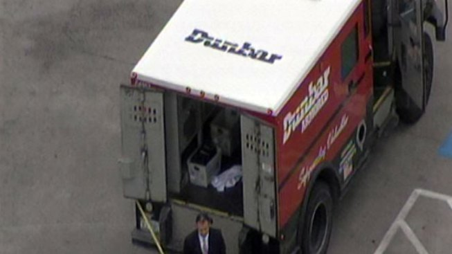 DPD Investigating Shooting, Armored Car Robbery