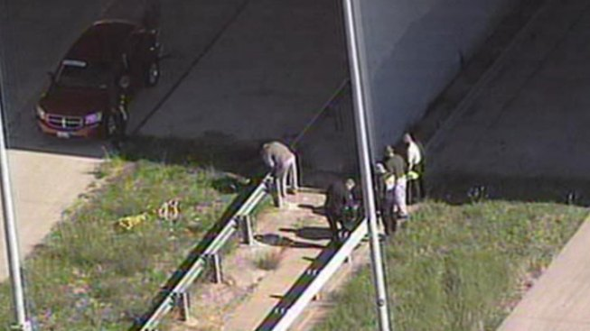 Man Found in Median After Fall From Bridge