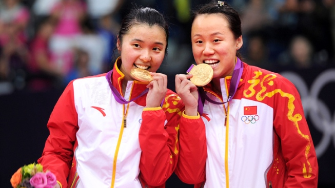 Chinese Win Tainted Badminton Olympic Doubles Gold