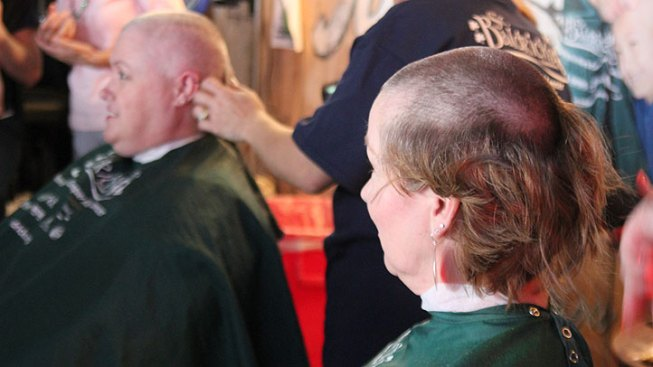 Locals Go Bald for Good Cause