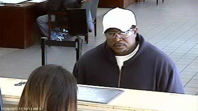 Police Release Photo of Dallas Bank Robber