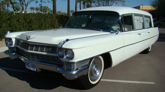 Kennedy Hearse Up For Auction