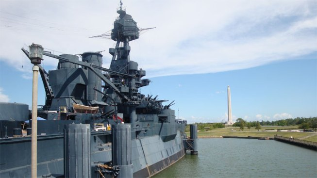 Battleship Texas Closed, Tilting as Crews Work to Plug Leaks