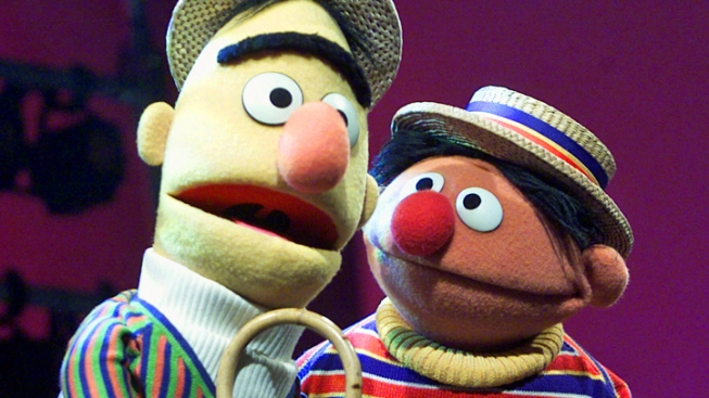 """Sesame Street"" Execs Say Bert and Ernie ""Will Not Marry"""
