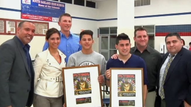 Garland Soccer Players Compete in Magazine Contest