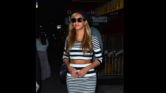 Beyonce Flaunts Toned Body During Kanye West's Birthday Bash