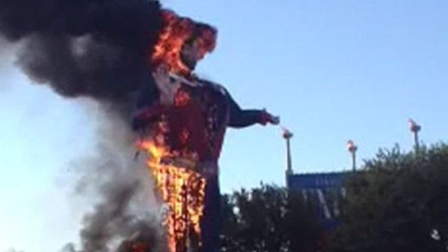 Electrical Short Caused Big Tex's Demise