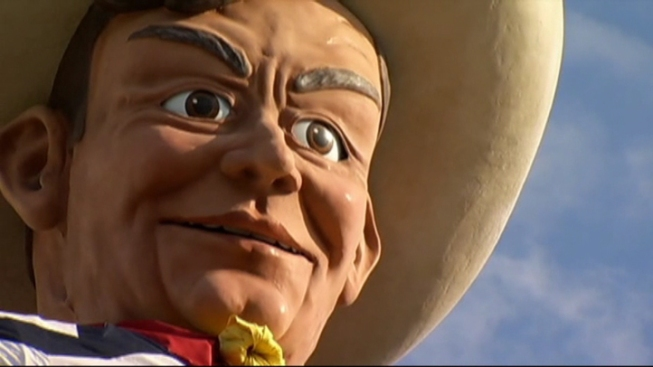 Big Tex's Secret Makeover Required Tight Controls