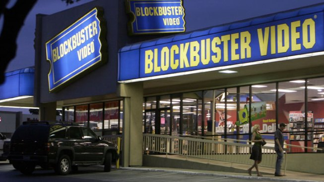 Blockbuster Stock Surges on News of Announcement