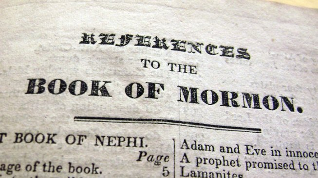 Texan Helps Recover Stolen Book of Mormon