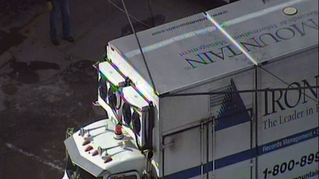Box Truck Snags Power Line