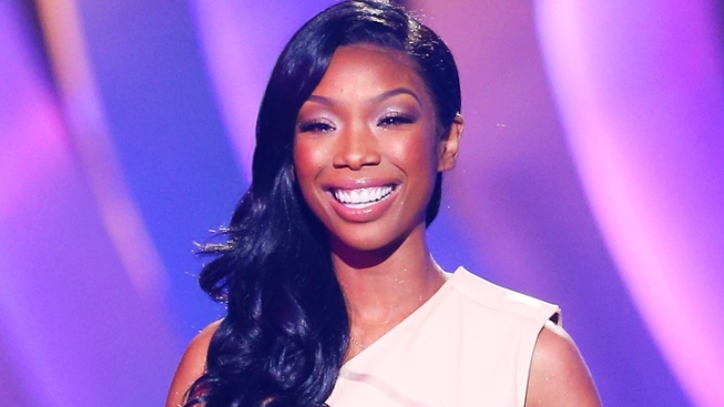 Brandy Performs to Empty Stadium in South Africa