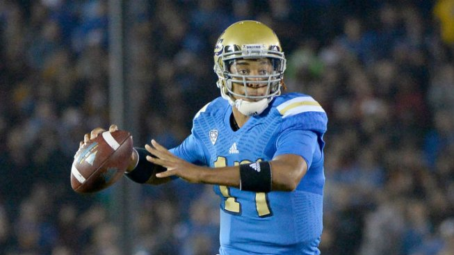 Cowboys Work Out UCLA QB Brett Hundley