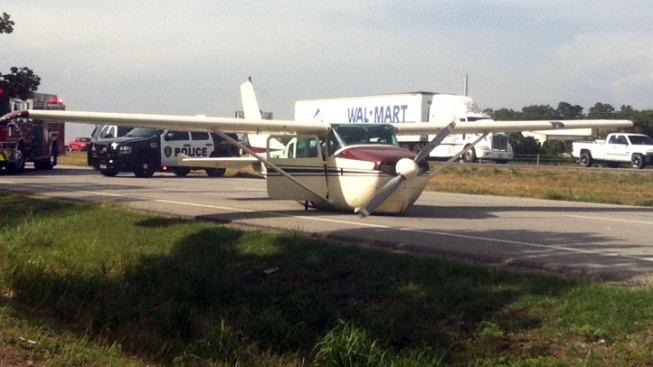 Plane Makes Emergency Landing in Burleson