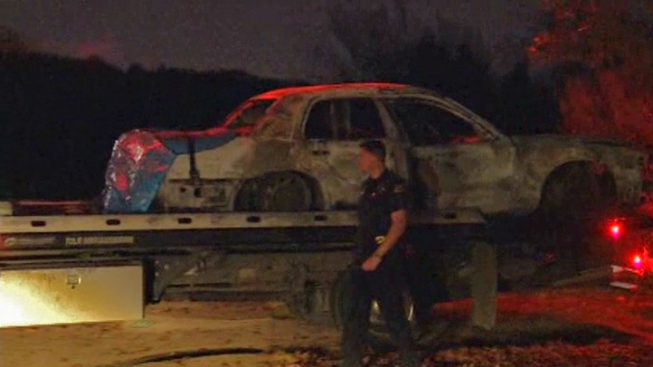2nd Person Arrested Over 2 Bodies in Burned Dallas Car