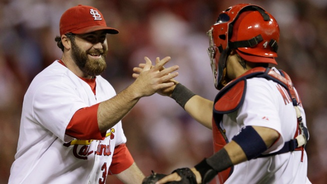 Cards Beat Brewers, Within Win of Pennant