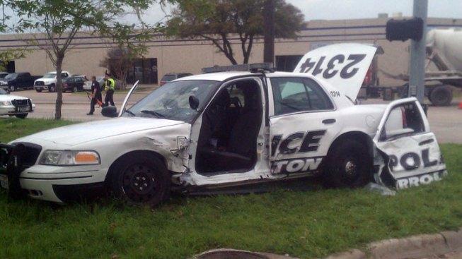Police Blotter: Crash Injures Carrollton Officer