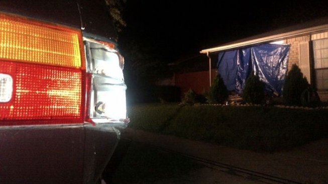 DWI Suspect Slams Into Kids' Bedroom