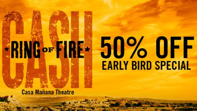 Casa Manana Offering Half-Price Tickets to Ring of Fire