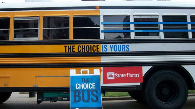 Graduate or Go to Prison: Choice Bus