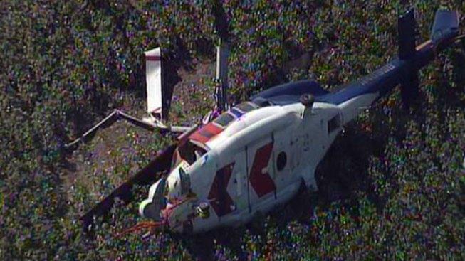 Chopper Down in Ellis County