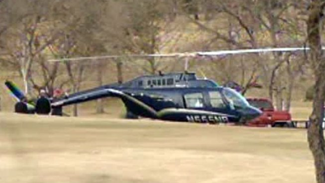 Helicopter Makes Emergency Landing on Irving Golf Course
