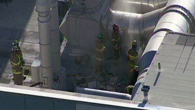 DFR Contains Fire at UT Southwestern